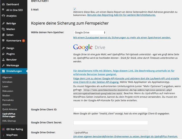 UpdraftPlus-Backup-Wordpress-google-Drive-deutsche-Anleitung-01