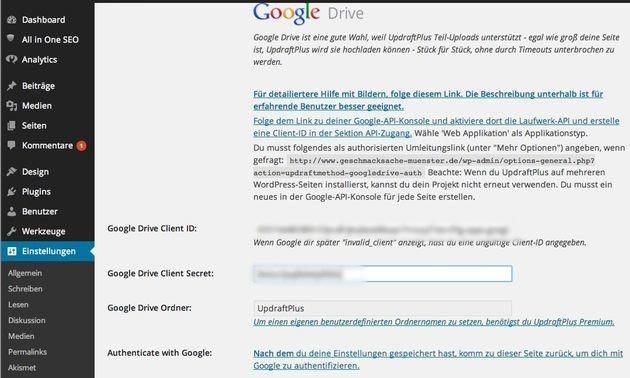 UpdraftPlus-Backup-Wordpress-google-Drive-deutsche-Anleitung-11